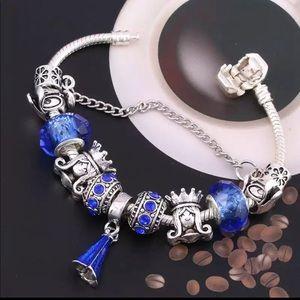 Jewelry - Brand New Disney Princess Crown Charm Bracelet